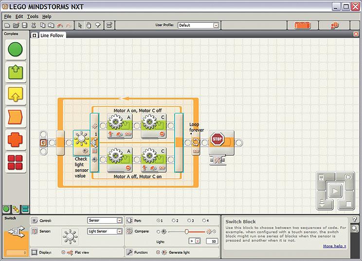roboti vut katedra dic techniky rh support dce felk cvut cz LEGO Mindstorms NXT Programming Examples LEGO Mindstorms NXT Parts